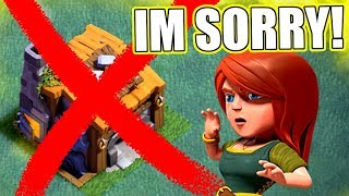 IM SORRY FOR ABANDONING MY VILLAGE!! - Clash Of Clans - BUILDERS HALL 8 PREP!