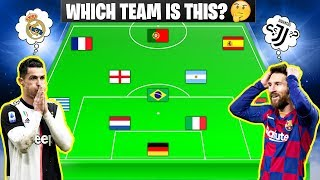 Which Team is this? ⚽ Football Quiz (2020 Edition)