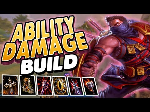 Smite:  Ability Damage Xbalanque Build - THIS IS YOUR FAULT.