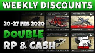 GTA 5 Double Money This Week | GTA ONLINE WEEKLY DOUBLE RP AND CASH BONUSES (x2 VIP Works)