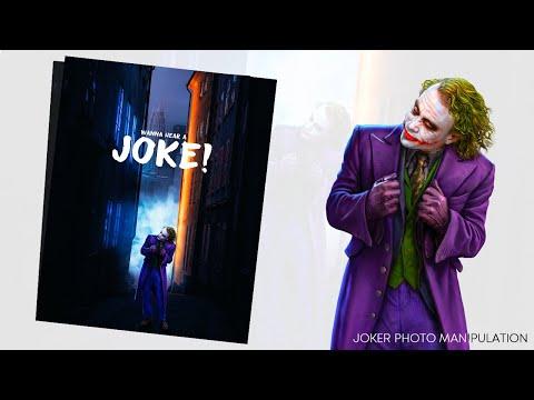The Joker: Photoshop Editing Process Speed Art