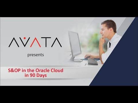 S&OP in the Oracle Cloud in 90 Days