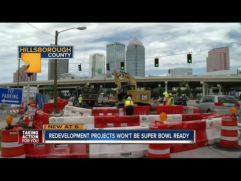 Tampa redevelopment projects won't be Super Bowl ready