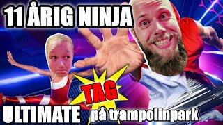 11-ÅRIG NINJA *ULTIMATE TAG PÅ TRAMPOLINPARK DEL 2*