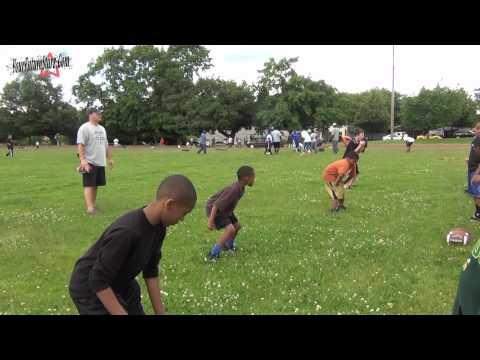 Grant Youth Football OTA 06-25-2012