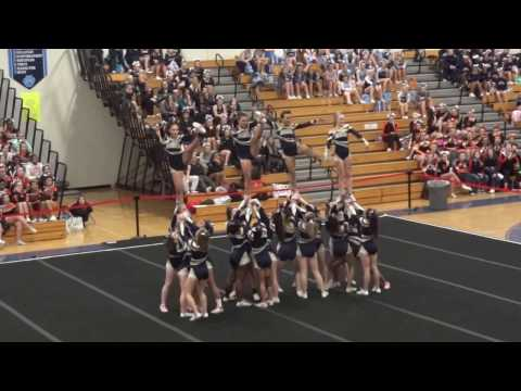Perry Hall High School Varsity Cheerleading Competition - Chesapeake High Invitational 1.21.17