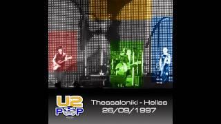 U2 Popmart tour Thessaloniki  One/Staring at the sun/Outro
