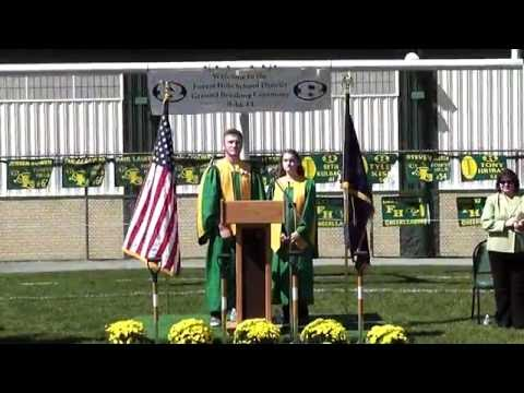 Forest Hills Jr.-Sr. High Groundbreaking Ceremony