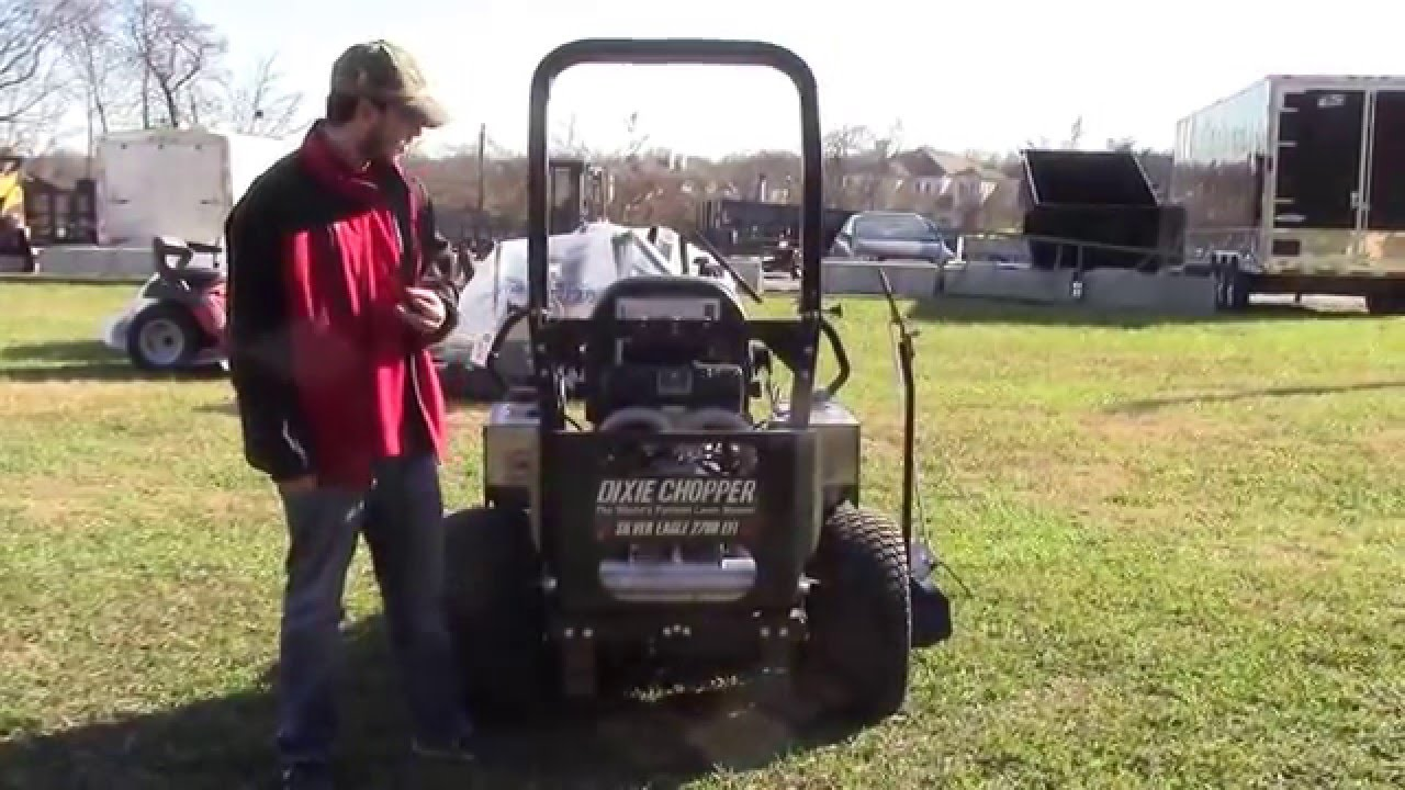 medium resolution of dixie chopper silver eagle zero turn mower review