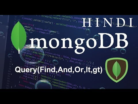 mongodb-tutorial-#4-querys(find,and,or,lt,gt)-(-हिन्दी)