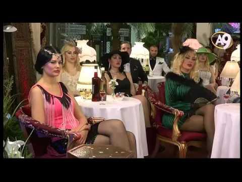 A9 TV'deki hanımların güzellikleri, kadehler, müzik ve dans cennete olan özlemdendir.