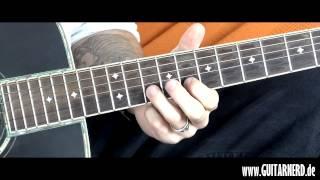 Gitarre lernen: Sportfreunde Stiller - Ein Kompliment (Akustik HD Guitar Nerd)