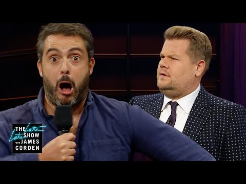 Audience Member Impression Insults James Corden