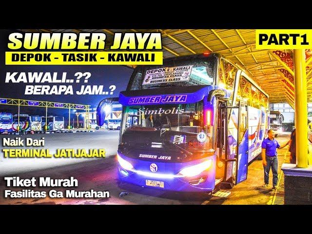 NYAMAN!! Naik Bis Dari DEPOK Ke KAWALI | Trip Bis Sumber Jaya Depok-Tasik-Kawali