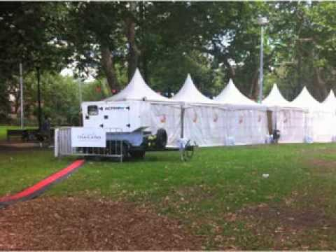 Singha Beer Thai Food Festival Sydney - Power Generators and Distribution By Active Air Rentals