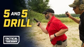 Tactical Tuesday - 5 and 5 Drill: Shooting & Reloading