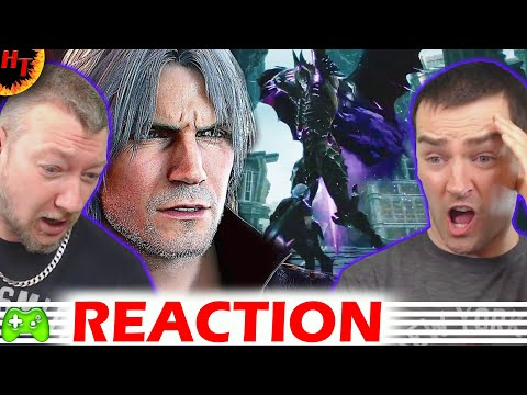 Devil May Cry 5 - ''DANTE'' Gameplay trailer ''REACTION'' Tgs 2018 thumbnail