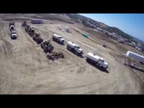 Aerial Videography for Mass Excavating and Grading projects by Canyon Run Videos