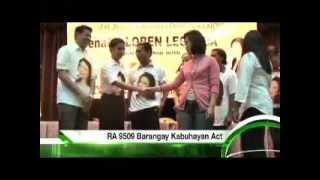 LOREN LEGARDA: Jobs TVC - 2013 Senatorial Elections