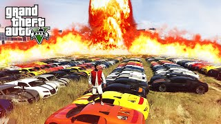 BIGGEST CAR EXPLOSION! - (GTA 5 Funny Challenges)