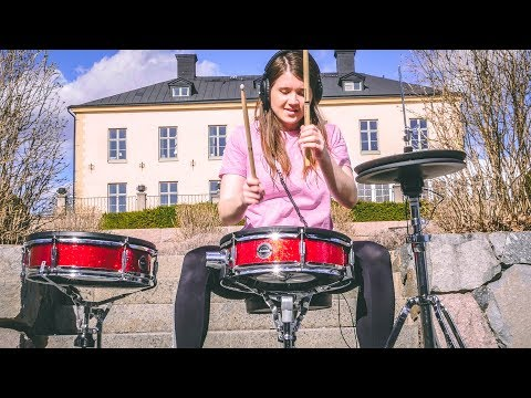 Flames - Sia & David Guetta  Drum Cover by TheKays