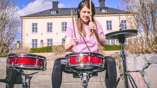 Flames - Sia & David Guetta | Drum Cover by TheKays