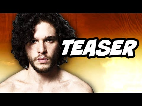 Game Of Thrones Season 6 Teaser Trailer - Jon Snow Daenerys Targaryen And Cersei Lannister