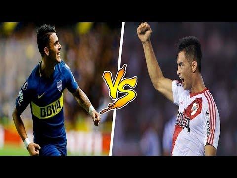 Cristian PAVON vs Pity MARTINEZ | 2018 | TOP 5 GOLES
