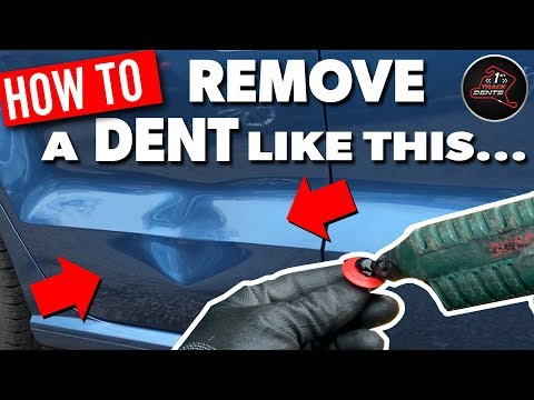 HOW TO REMOVE A DENT LIKE THIS - VW POLO