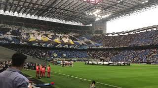 Uefa Champions League song in San Siro 18/9/2018 Inter-Tottenham
