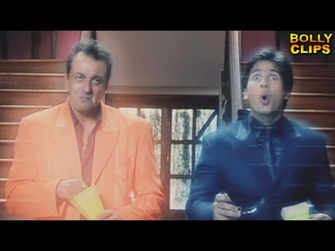 Comedy Movies   Hindi Movies 2018   Sanjay Dutt Takes Shahid Into Flashback   Comedy Scenes