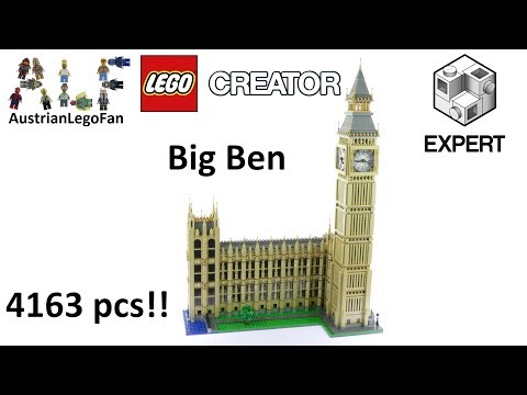 Lego Creator 10253 Big Ben - Lego Speed Build Review