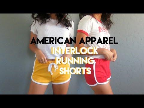 DIY | Running Shorts [American Apparel Inspired]