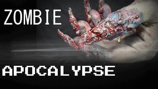 ZOMBIE APOCALYPSE 4D NAILS | ABSOLUTE NAILS