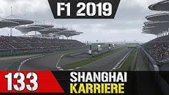 Let's Play F1 2019 Karriere #133 - Großer Preis von China in Shanghai - Training