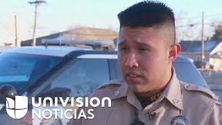 Policía y beneficiario de DACA: Así es el oficial García, a quien definen como