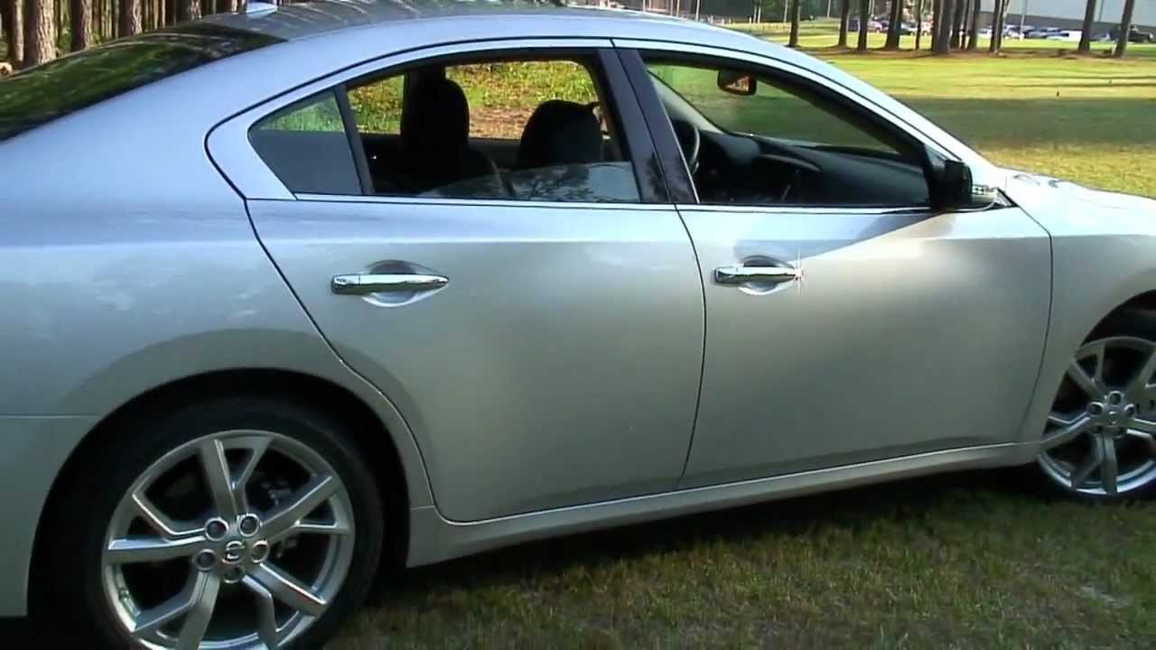 2012 nissan maxima sport detailed walkaround youtube vanachro Image collections