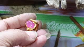 Nhẫn nữ ruby 2chi .khác đấu gia đá trên livetream nhờ shop lên nhẫn luôn.Triệu Group0854589999