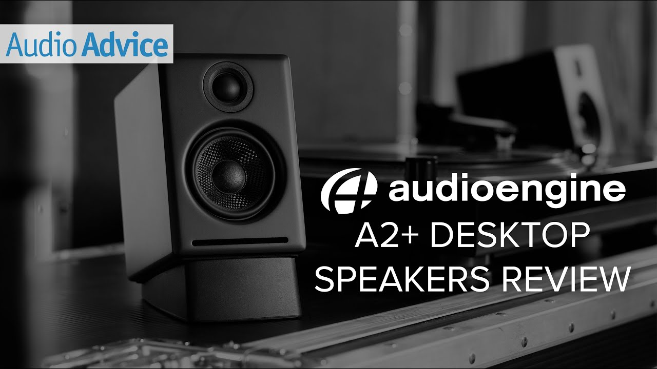 A2 premium powered desktop speakers youtube - Audioengine A2 Desktop Speakers Review
