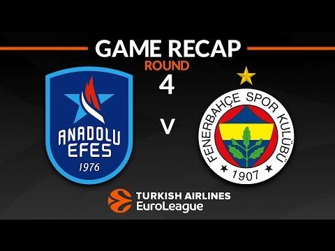 Highlights: Anadolu Efes Istanbul - Fenerbahce Istanbul