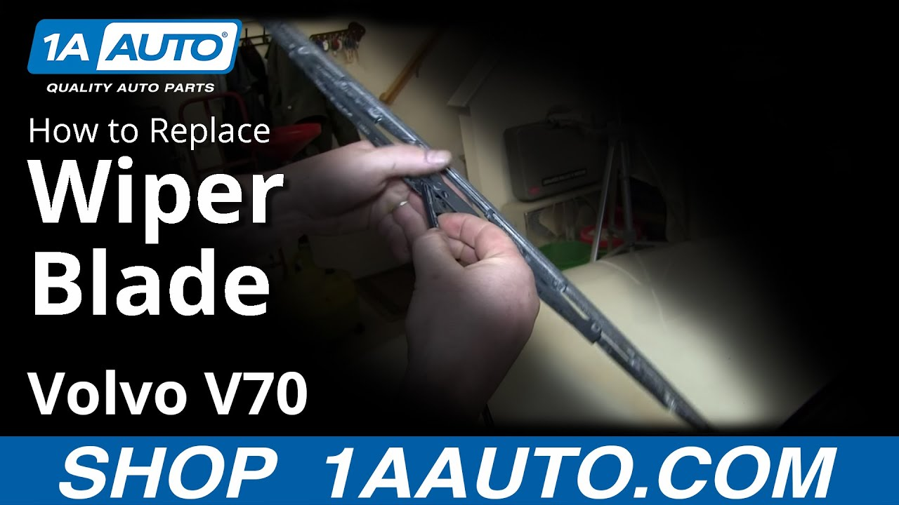 How to install replace windshield wiper blades volvo v70 youtube how to install replace windshield wiper blades volvo v70 publicscrutiny Images