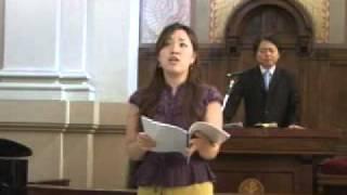 예수 인도하셨네_류은선_로마연합교회 주일예배 봉헌송(2006.7.30)