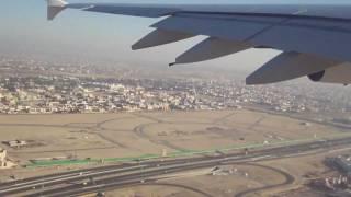 A380 Emirate : décollage de Dubai pour paris