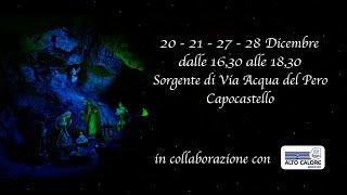Castellarte presenta Il Presepe della Sorgente - 20-21-27-28 Dicembre 2019