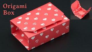 Geschenkbox basteln / Origami Box falten - DIY