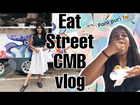 STREET FOOD FESTIVAL   Eat Street Colombo Vlog  