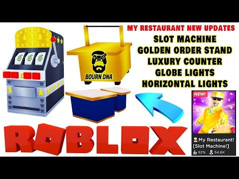 Roblox 👨🍳️ My Restaurant! [Slot Machine!] - UPDATE Introducing 🏢 Floor 10 🍀 Slot Machine 🔥Bourn DNA