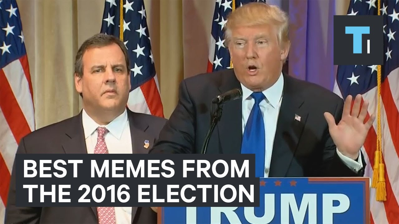 10 best memes from the 2016 presidential election