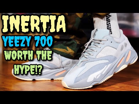 """INERTIA"" ADIDAS YEEZY 700 ON FEET REVIEW! WORTH THE HYPE? I'LL LET YOU KNOW!"