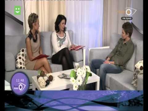 """interview with Back To The Ocean in TV Rodin 26.10.2012 - program """"Drugie śniadanie"""""""
